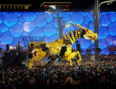LaMachine comes to Ottawa in July 2017 for Canada's 150th Anniversary celebrations!