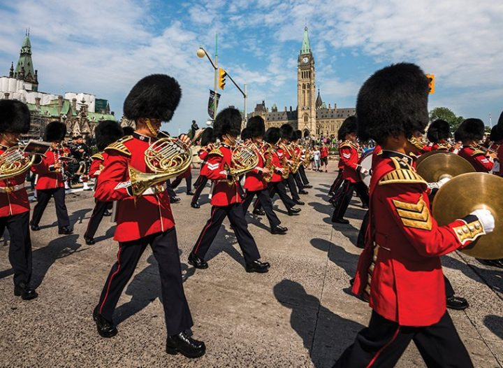 Changing of the Guard - Parliament Hill