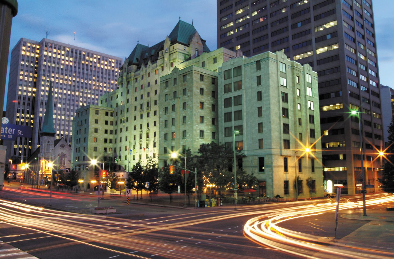 Lord Elgin Hotel downtown Ottawa