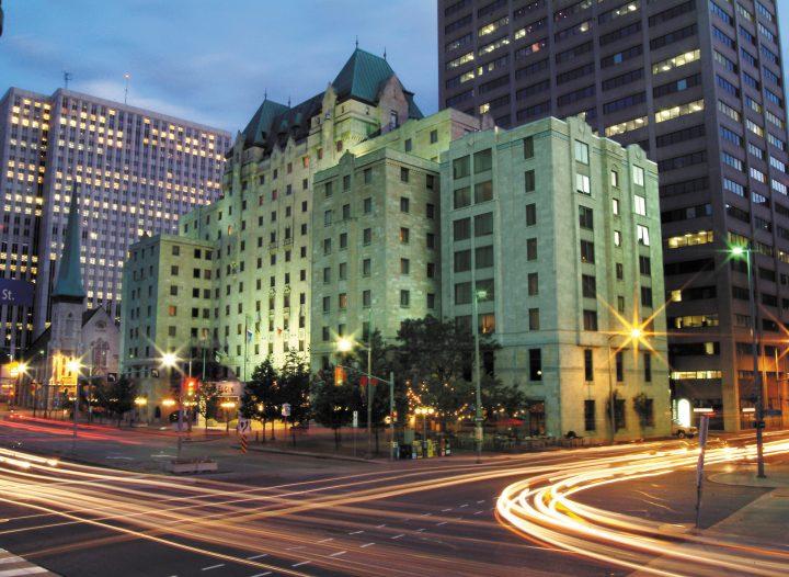 Lord Elgin Hotel downtown Ottawa