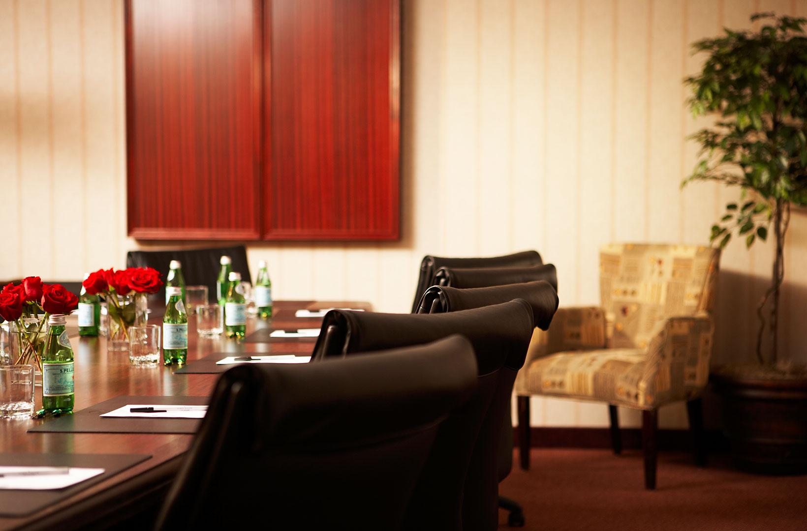 Boardroom in Lord Elgin Hotel, Ottawa
