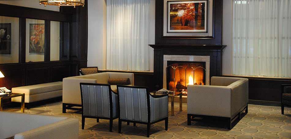 Lobby- Lord Elgin Hotel Ottawa