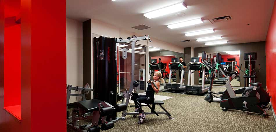 Amenities include on site dining parking pool gym