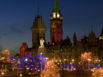 Christmas Lights Across Canada - Ottawa, On