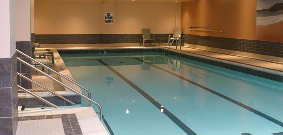 Pool at Lord Elgin Hotel Ottawa