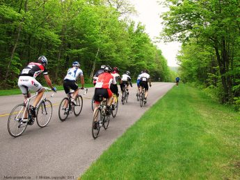 Cycling in Gatineau Park and Ottawa