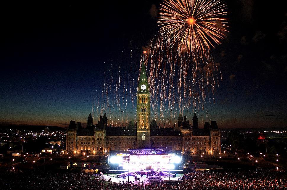 Parilament Canada Day