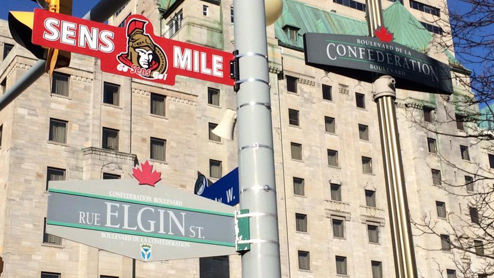 Sens-Mile-Sign