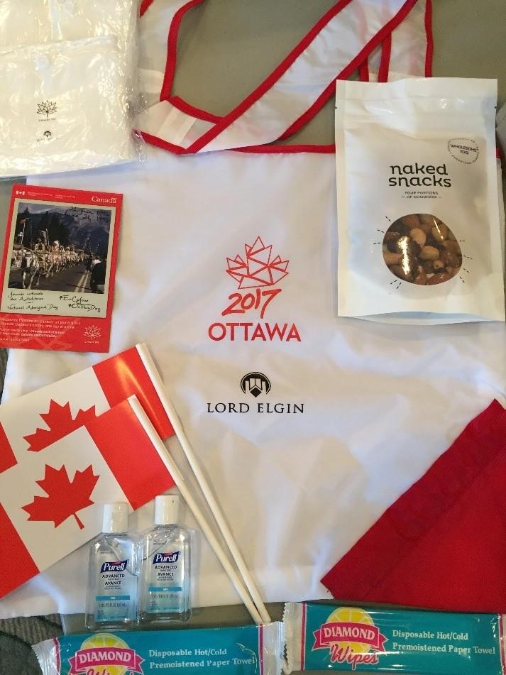 2017  Canada Day Bag