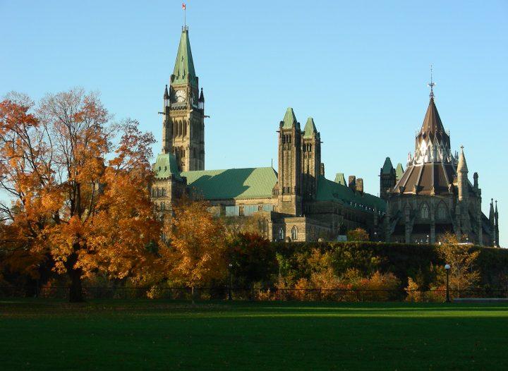 Fall in Ottawa - Parliament Buildings