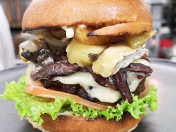 Grill41 New Food Menu Items Truffle Burger