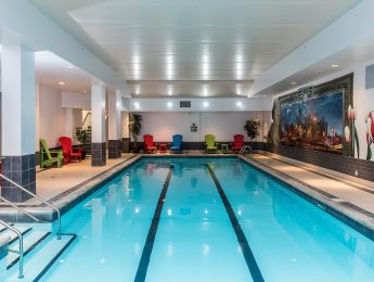 indoor pool at the lord elgin hotel