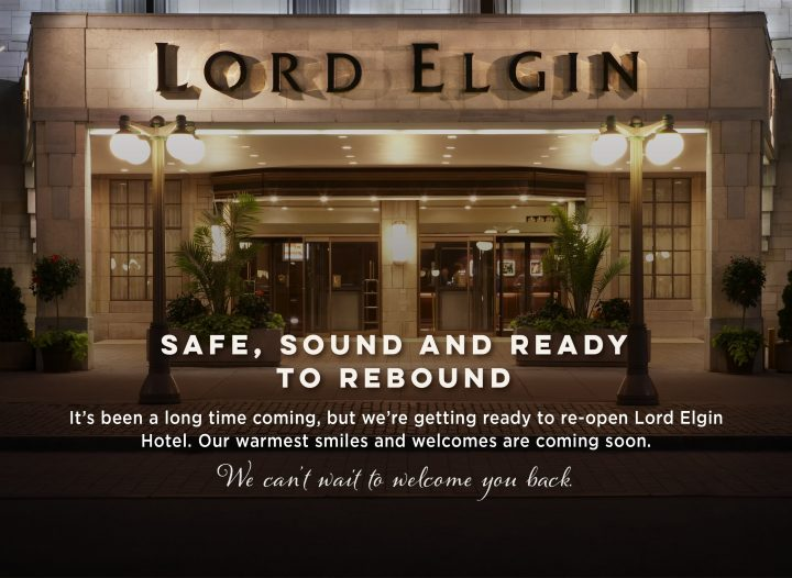Reopening of the Lord Elgin Hotel